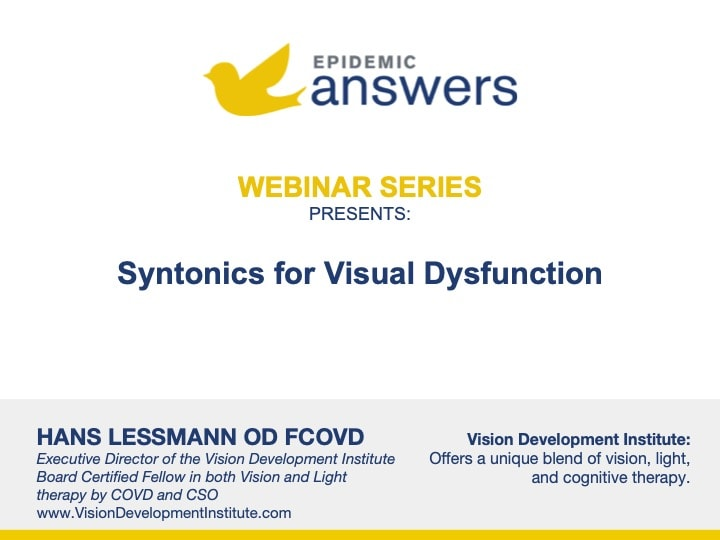 Syntonics for Visual Dysfunction