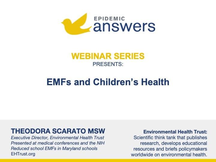 EMFs and Children's Health