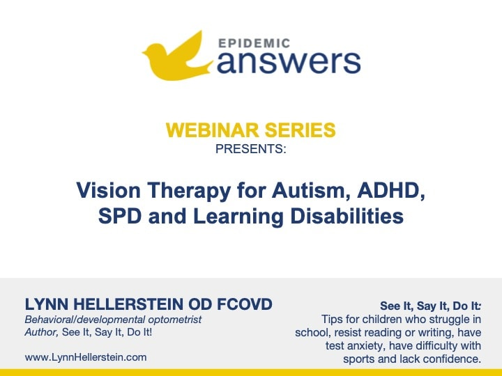 Vision Therapy for Autism, ADHD, SPD and Learning Disabilities
