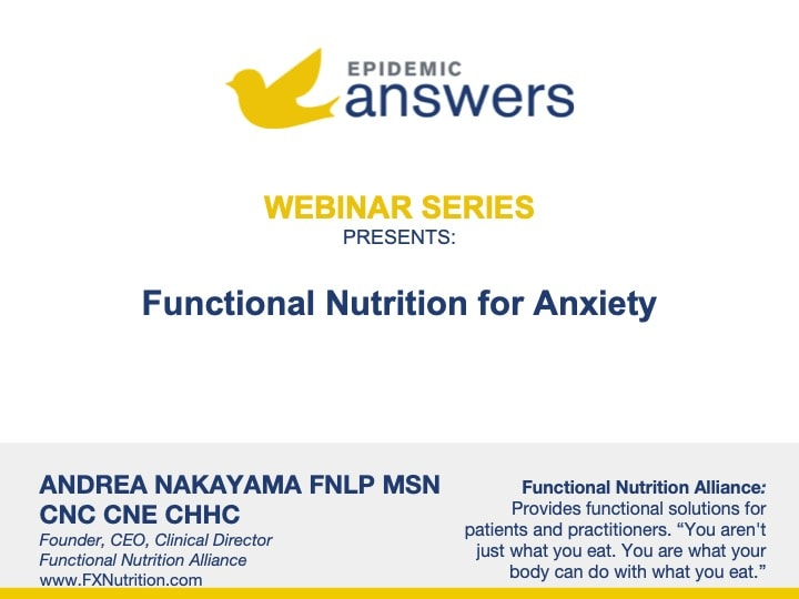Functional Nutrition for Anxiety with Andrea Nakayama