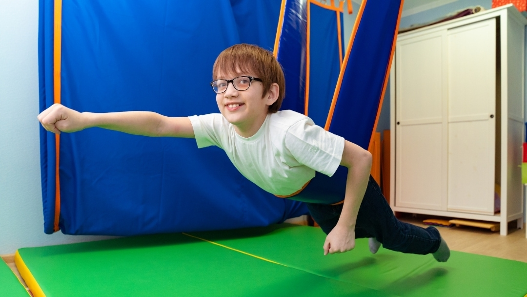 child with sensory processing disorder
