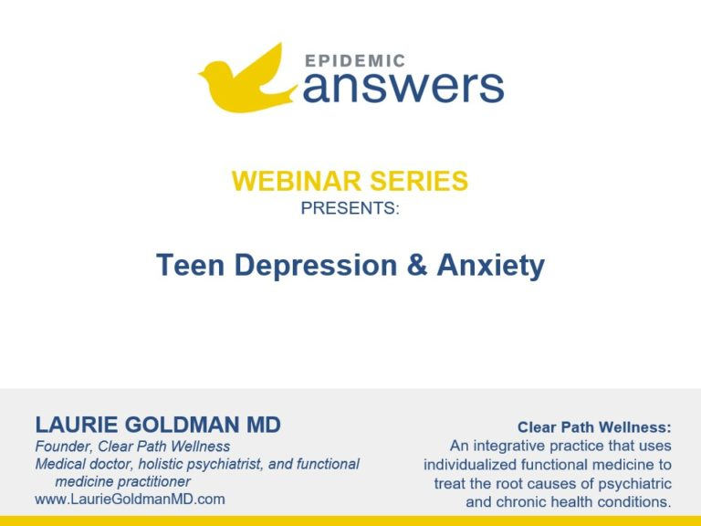 Teen Depression and Anxiety with Laurie Goldman
